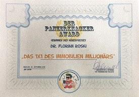 panzerknacker-award Hörbuch Immobilien